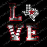 Promotion Free Shipping  Rhinestone Iron On Transfers Korean Crystal Rhinestone Design 50Pcs/Lot