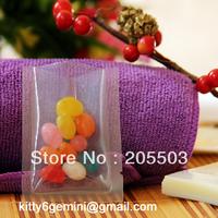 6*8cm food vacuum packaging bag,transparent plastic bag ,thickness 0.24mm
