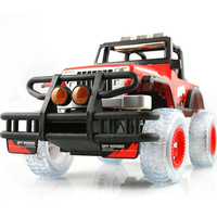 Dc1 : 10 off-road remote control car big steel automatic tape hummer music remote control car