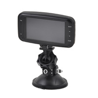 "Free Shipping 1080P 5.0MP 2.7"" TFT LCD CMOS Wide Angle Car DVR with G-Sensor, AV Out, HDMI, Black"