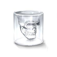 popular skull glass