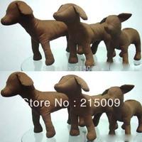 Free Shipping 2013 New deni leather 3 Size Dog Torsos Dog Models Dog Mannequins