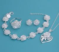 wedding jewelry set bridal jewelry sets wedding jewlery lots earrings China wholesale Aliexpress jewelry sets YAT008