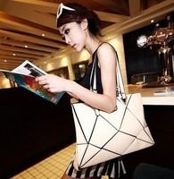 free shipping 2013 new women Female bags fashion patchwork big bag casual vintage handbag motorcycle bag