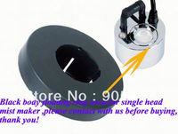 mist maker fogger humidifier black body floating ring used for single head PVC material free shipping