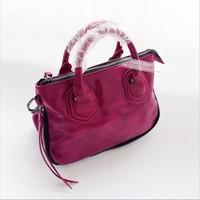 Fashion 2013 new wax cowhide cross-body bag small handbag motorcycle women's genuine leather handbag