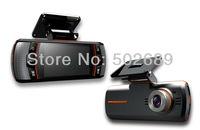 New F90G H.264 Full HD 1920x1080P 20FPS Dual Lens Dashboard Car vehicle Camera /Video Recorder/ DVR CAM G-sensor/GPS/Rear Camera