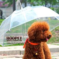 Teddy small dogs belt dog umbrella pet umbrella dog raincoat poncho 2J04C084