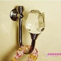 E HOME Rose crystal  curtain hook wall hook quality metal hook round toe 2E02C075