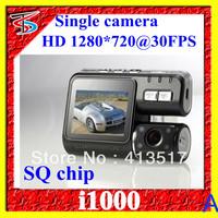 China Post Free Shipping Wholesales I1000 Car DVR Camera HD 1080P Wide Angle 120 Degree(P-05B)