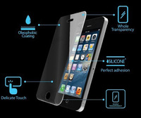 Anti-Shock Tempered Glass Explosion-Proof Screen Protector Film for iPhone 5 5G Free Shipping