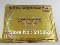 DHL Free Shipping 200PCS/Lot Gold Crystal Collagen Facial Mask Face Mask 60g