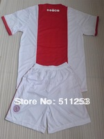 free shiping wholesale 13 -14 ajax home soccer jerseys Kits High Quality soccer uniforms10pcs/lot can mix order
