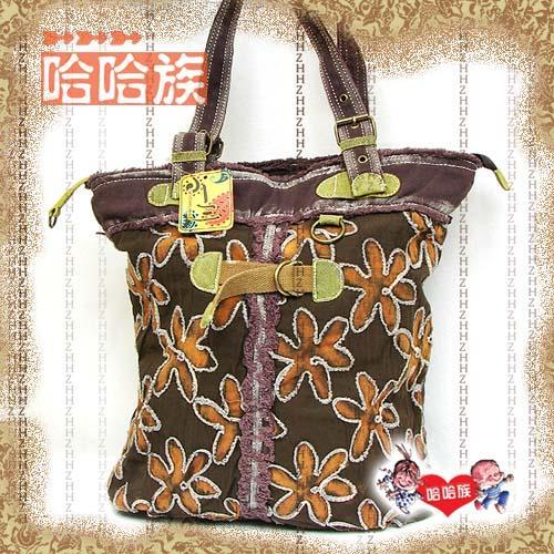 Сумка Novelty bag water wash denim fabric bags coffee