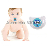 10pcs New Hot Soft Safe Digital LCD Baby Nipple Thermometer Nipple-like Pacifier Digital Thermometer for Infants Free Shipping
