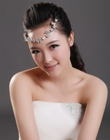The bride hair accessory butterfly shape crystal hair accessory