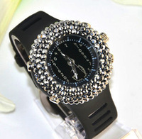 Full rhinestone watch female watch fashion diamond watch diamond rhinestone fashion lady with diamond
