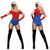 2013 New Girl Spider Costume  sexy dress  Halloween  Costumes  free shipping 9211