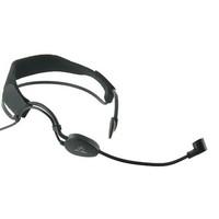 Pro XLR 3pin mini Black ME3 Headset Head Microphone For AK&G Wireless Mic System