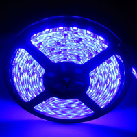 5050 LED Strip UV Ultra Violet Light 395-405nm 5M 300Leds 60leds/M 12V waterproof
