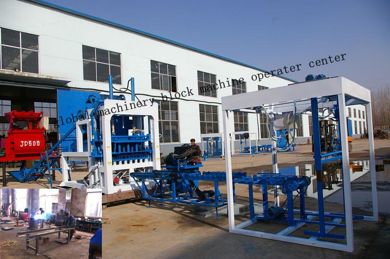 Hand hydraulic press QT4-20C brick/ block machine complete set()