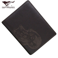 Septwolves wallet 2013 male cowhide short wallet design 3a0831184-02