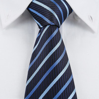 2013 male fashion tie business casual tie blue bar
