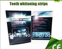 Teeth Whitening Gel Strips,6% Hydrogen Peroxide Tooth Whitening Strip Mint Flavor 14pcs/packs Free Shipping 100packs/lot