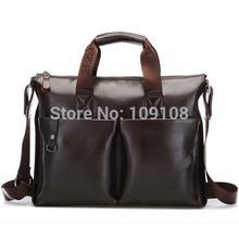 leather briefcase men promotion