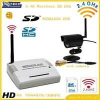 Best-selling! Mini 2.4G Wireless DVR Camera Securely DVR System + wireless night vision CCD camera