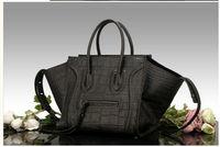 Wholesale of high-grade phantom bats bag smiley bag leather crocodile grain female bag