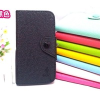 8Color,Original Pure colour high Quality leather case for Nokia Lumia 720, wallet pouch flip cover case Free shipping-