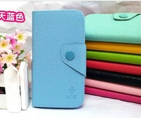 Fashion leather case , Flip Leather Case with Holder for NOKIA lumia 620 pure color 8colors  free shipping-