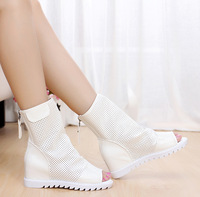 Cool boots 2013 spring and autumn summer boots popular open toe boots elevator boots women's sandals