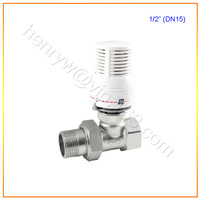 "Retail - Luxury Brass Thermostatic Radiator Valve, Control the Radiator Temperature, 1/2"" DN15, Free Shipping X13801A"