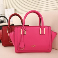Christmas Gifts for women High Quality PU leather bags women's handbag designers fashion totes Candy colors free shipping