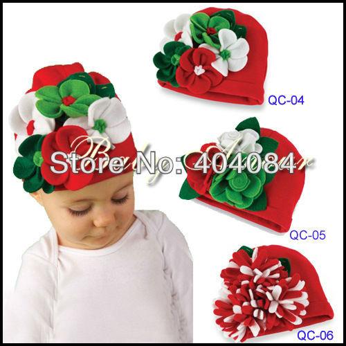 новые рождественские 1 шт розничная торговля 6designs забрать ребенка шляпа моделирование детей цветок моды Кап детской шапочки