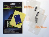 2x Full Body Protector for iPhone 4 Front CLEAR Back CLEAR free shipping