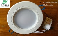 Wholesale White color 3.5 inch LED downlight lamp Antifog Bathroom Recessed Ceiling Down Light lamps 85V-265V input 100pcs/lot