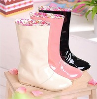 L Autumn waterproof rain boots size 34-43  female ladies sexy women rainboots rain boots for women and woman shoes
