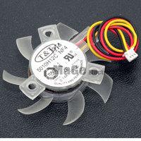 T&T 5010H12C NF4 12V 0.14A 45X45X10MM Frameless graphics card fan