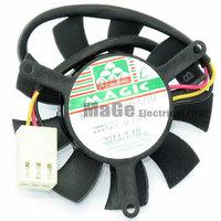 MAGIC MGT5012XB-O10 12V 0.19A 45X45X10MM Frameless graphics card fan