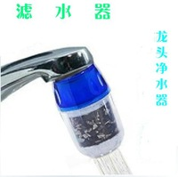 Free shipping 5pcs/lot Home Water Purified Faucet Tap Bamboo Charcoal Double Purifier Filter Head New