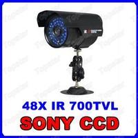 SONY Effio 700TVL 48 Infrared LED Vandal Dome Outdoor Waterproof Bullet CCTV Camera OSD Menu Control