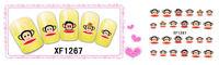Freeshipping- Fashion Nail Wrap Water Transfer Nail Art Sticker Big Monkey Design Dropshipping [Retail]