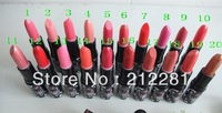 *2013 Factory Direct! free shipping new hot makeup kt lipstick (20 pcs ) 20 color