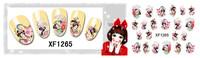 Fashion Nail Sticker Water Transfer Wrap Nail Art Geisha Girls Dropshipping [Retail] Freeshipping