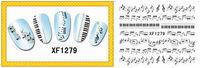 3D Design Nail Art Sticker,3D Design Nail Art Seal ,various of design,21packs per lot Free Shipping
