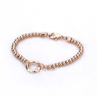 free shipping hot selling 2013 links style bracelets cheap price good quality bracelet rose gold plating bracelet popular style