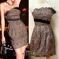 Free shipping short mini party dress 2014 new arrival dresses party evening elegant vestido de festa celebrity dresses